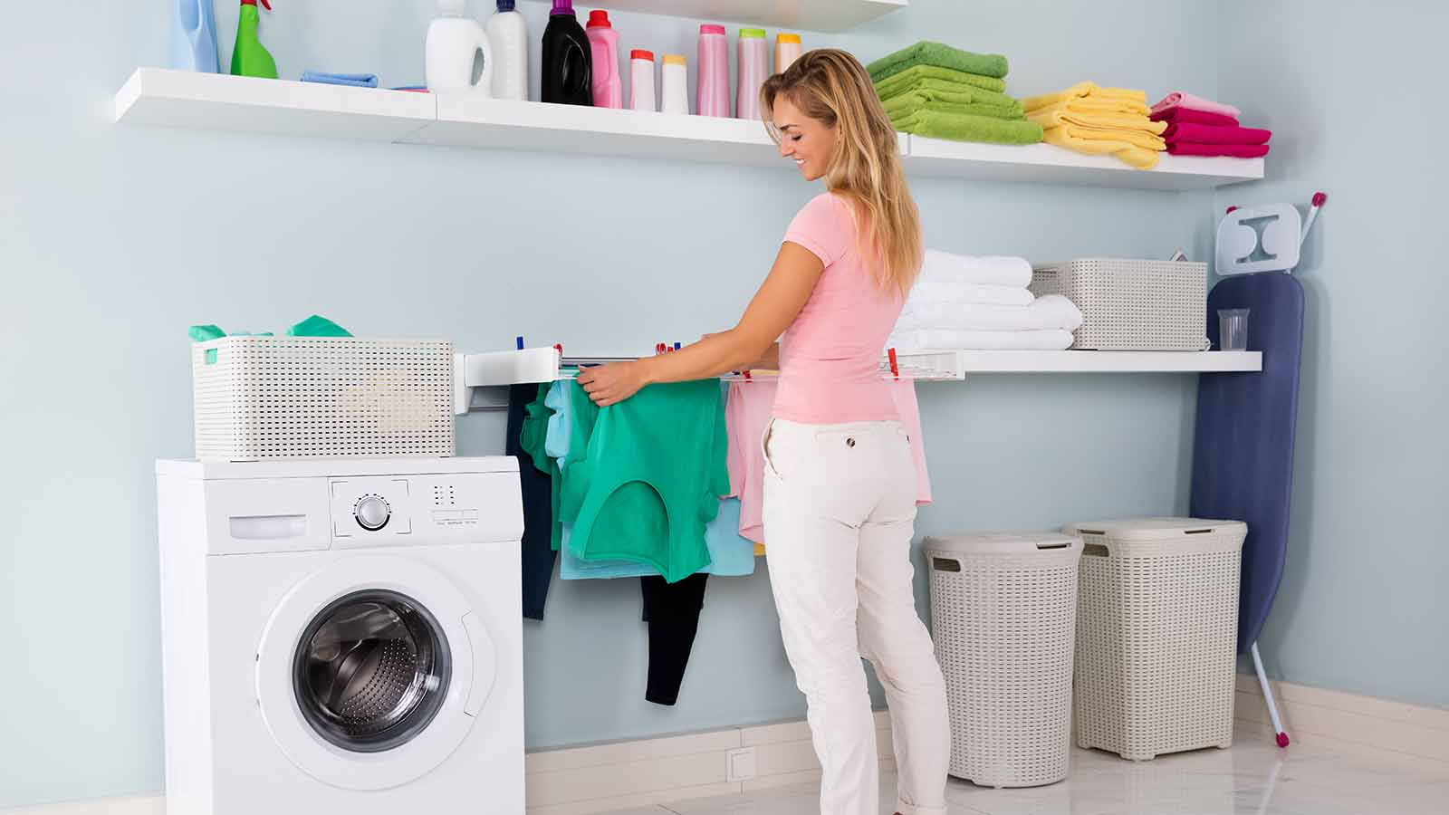 Skip the Dryer & Line Dry Your Clothes