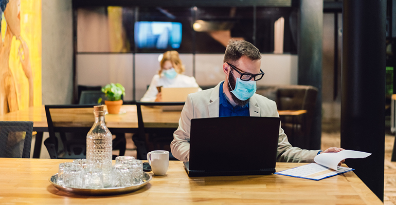 Protection in the office during COVID-19 pandemic
