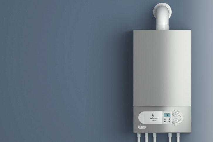 boiler-on-wall