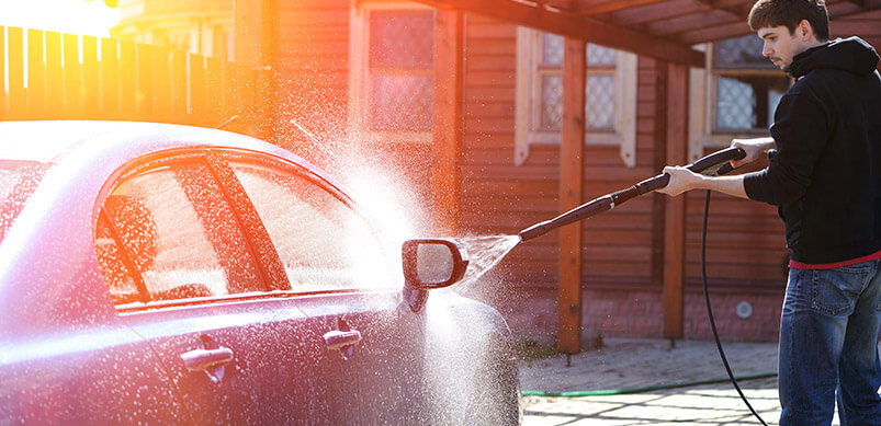 Pressure Washing your Car or Truck2
