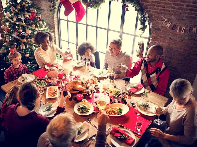 Christmas Eve Dinner As A Family
