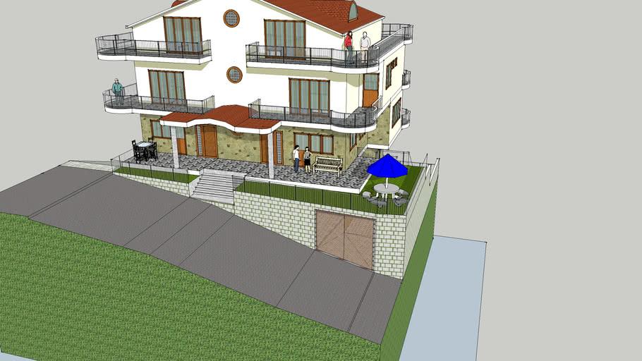 3D model my dream house2