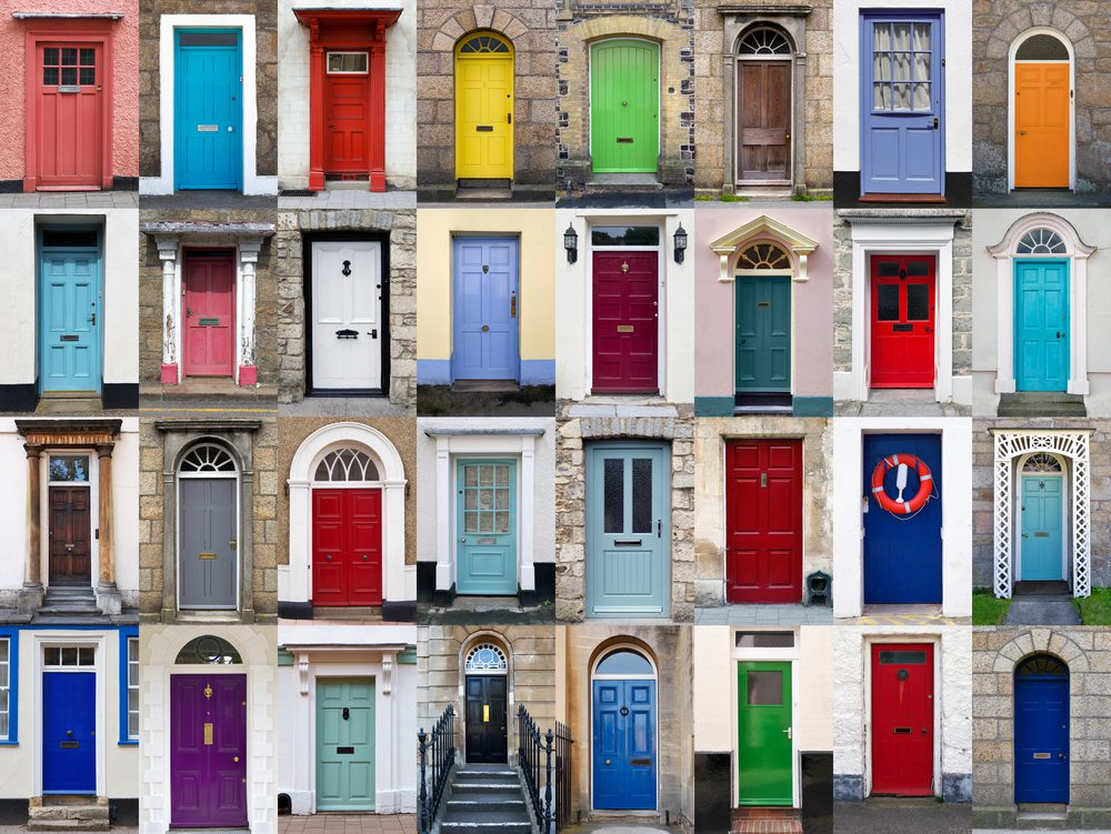 Give your front door a facelift