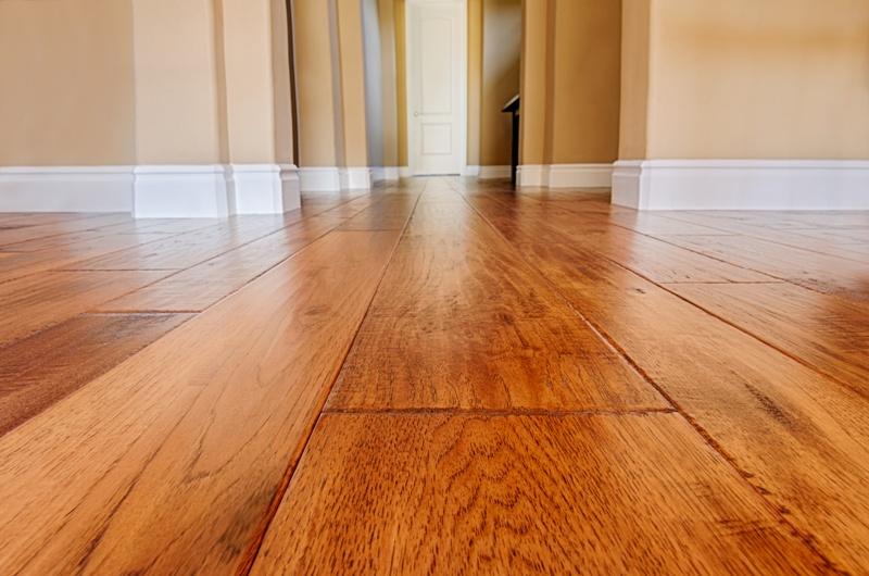new hardwood floor