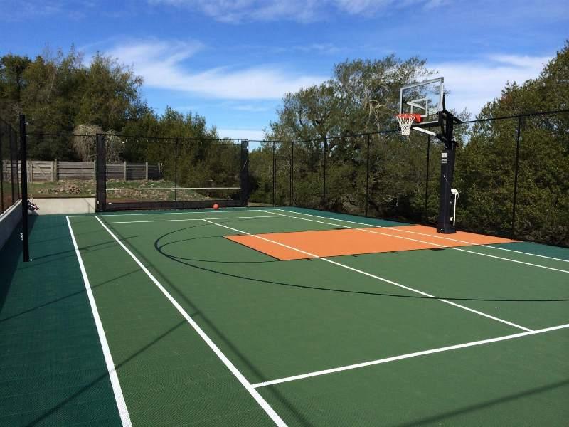 Backyard Sport Court1