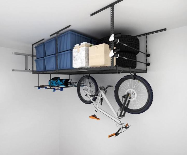 How do I Install Fleximount Overhead Storage?