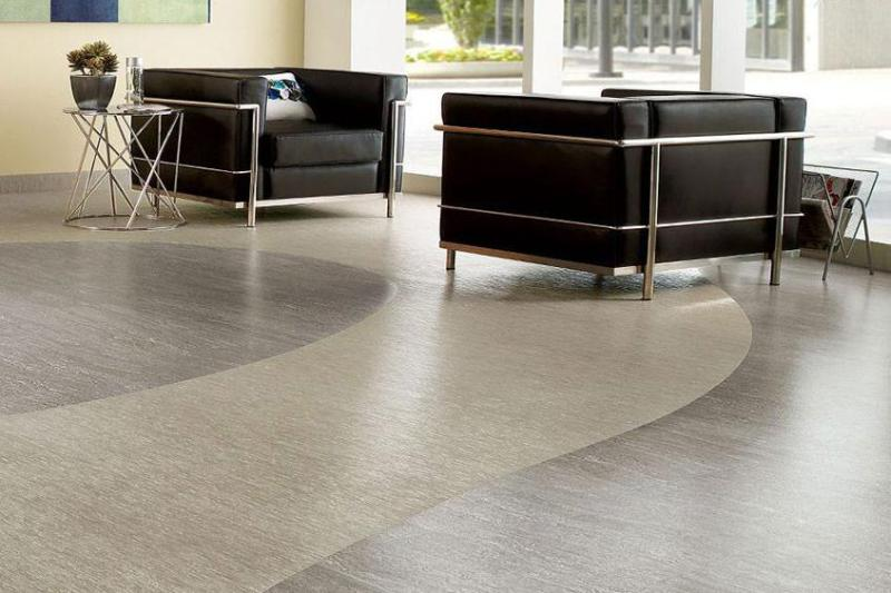 Vinyl Industrial Flooring
