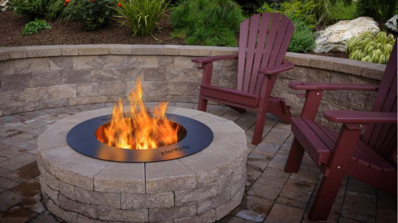 Smokeless Firepits in outdoor1