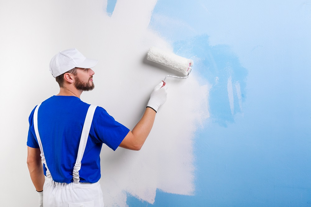 Painting a house2
